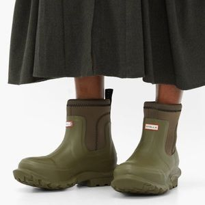 NEW Stella McCartney x Hunter Olive Rain Boot